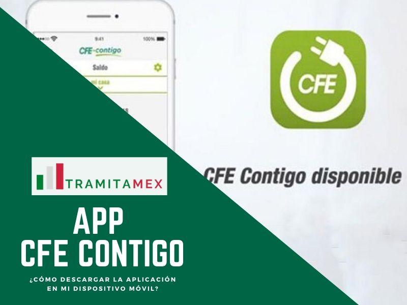 App CFE Contigo México