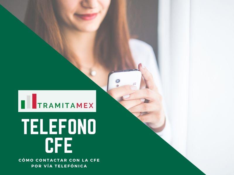 Teléfono CFE México