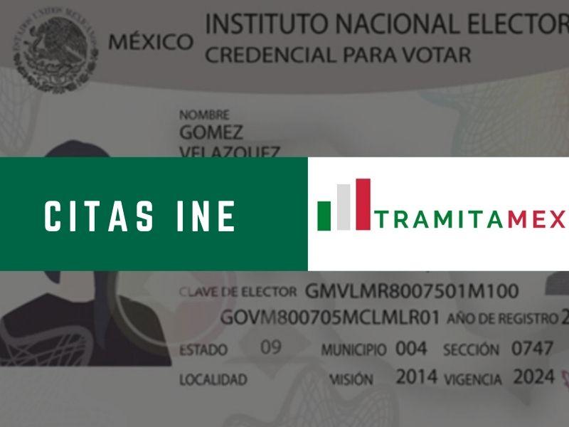 Sacar Cita INE México