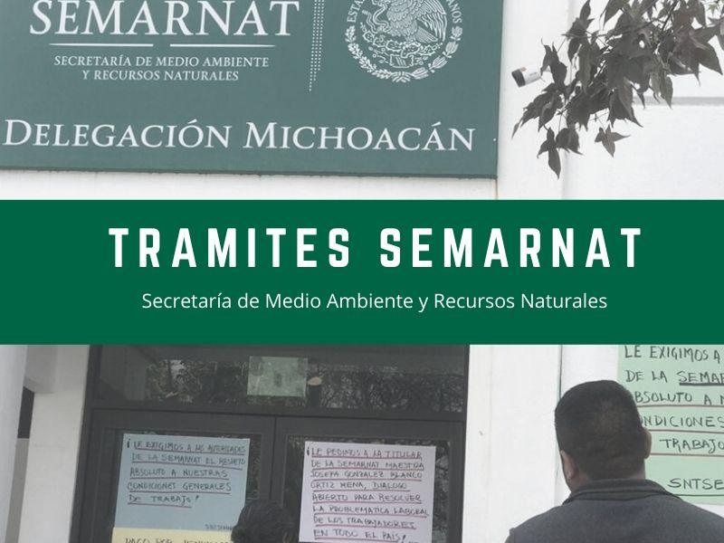 Trámites SEMARNAT
