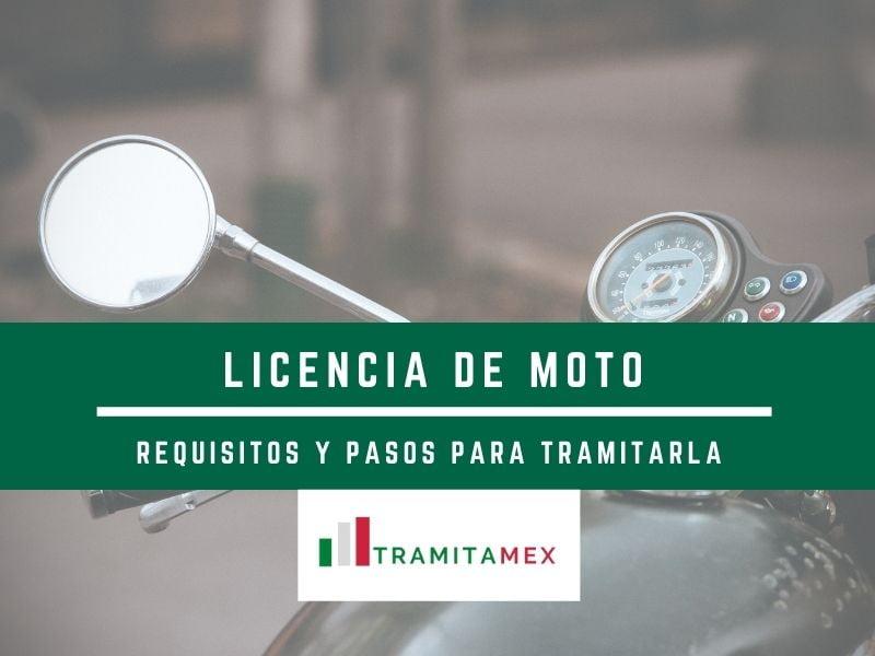 Requisitos para tramitar licencia de moto en Mëxico