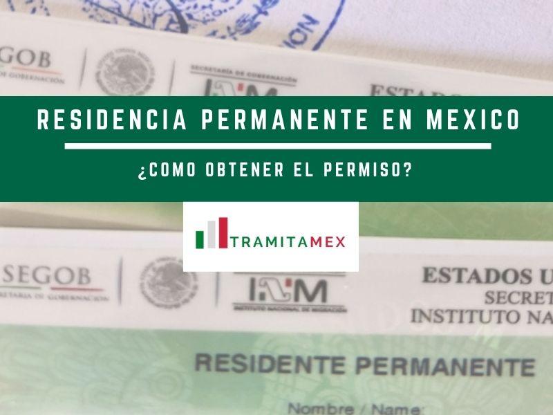 Residencia permanente en México FM2